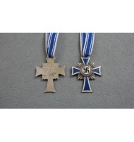 WW2 German Cross of Honour of the German Mother - Silver