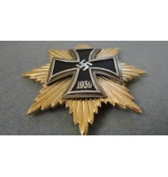 WW2 German Star 1939 of the Grand Cross of the Iron Cross - Gold
