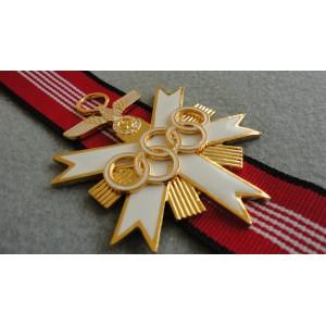 German Oliympic 1936 Decoration Cross 1st Class