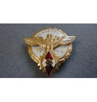 WW2 German HJ Victors Badge - Gold
