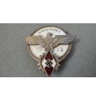 WW2 German HJ Victors Badge - Silver