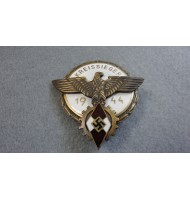 WW2 German HJ Victors Badge- Bronze