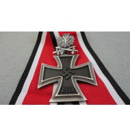 WW2 German Nazi Knights Cross,Oak leaves with Crossed Swords - Superior