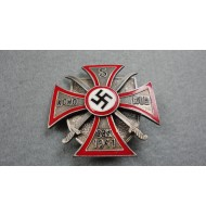 WW2 German - Russian Cossacks Volunteers Iron Cross