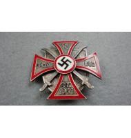 WW2 German - Russian Cossacks Volunteers Iron Cross