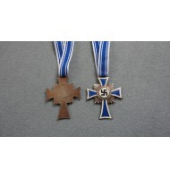 WW2 German Cross of Honour of the German Mother - Bronze