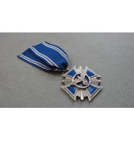 Cross N.S.D.A.P 15 Years Long Service Award - in Blue
