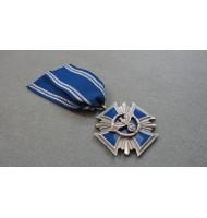Cross N.S.D.A.P 15 Years Long Service Award - in Blue