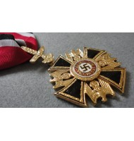 WW2 German Order  Big Gold Cross