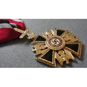WW2 German Order  Big Gold Cross