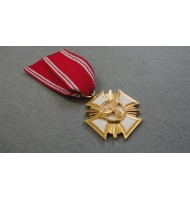 Cross N.S.D.A.P 25 Years Long Service Award -  in Gold