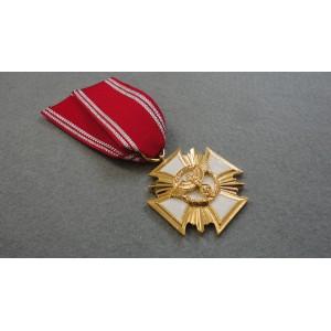 WW2 German Cross NSDAP 25 Years Long Service Award -Gold