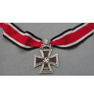 WW2 German Nazi Knights Cross of the Iron Cross Oak Leaves with Swords and Ribon