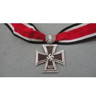 WW2 German Nazi Knights Cross of the Iron Cross Oak Leaves with Ribon