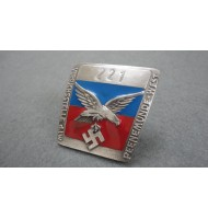WW2 PEENEMUNDE ROCKET BASE - ( Identyfication Badge )