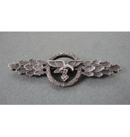 WW2 German Luftwaffe Transport Glider Squadron Clasp - in Silver