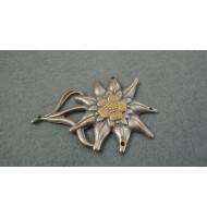 WW2 - WH Field Cap Decal Edelweiss