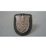 WW2 German Campaign KUBAN Shield