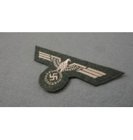 WH Breast Eagle-(M-40) Feldgrau