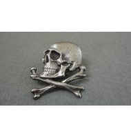 German Skull with Cross Bones