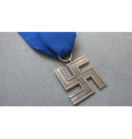 SS 12 Years Long Service Cross - Award