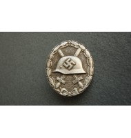 WW2 German Wound Badge 1939 - Silver