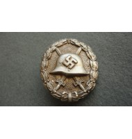 WW2 German Condor Legion Wound Badge Spanish Style - Silver