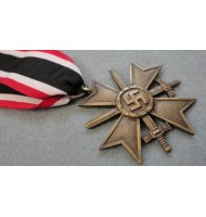 WW2 German Medal War Merit Cross with Swords  2nd Class