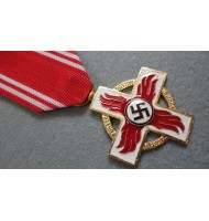 WW2 German Reich Firemans Service 1st Class Award in Gold