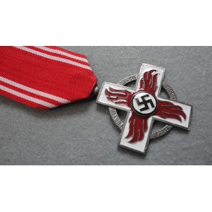 WW2 German Fireman Medal-Silver