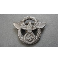 WW2 German Nazi Police Visor Cap Eagle