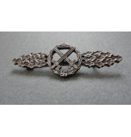 WW2 Front Flying Clasp for air to Ground Support Fighters - in Silver